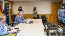 Videoconferencia sobre el TMT.