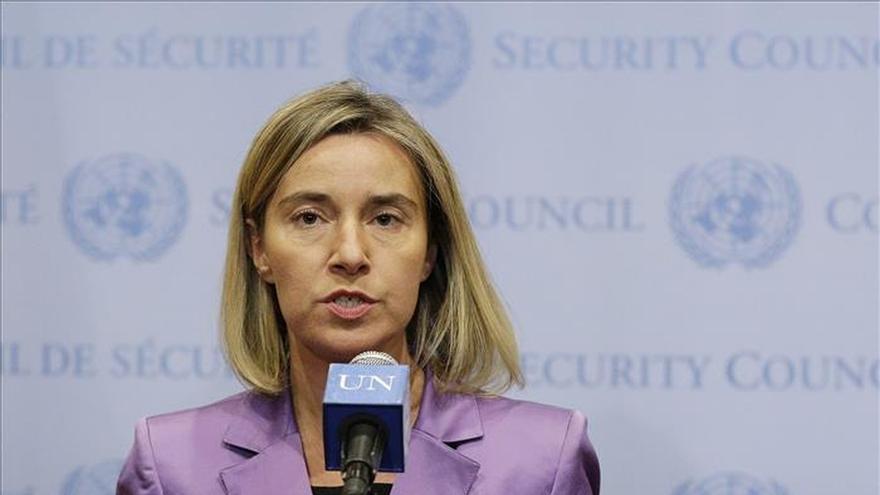 La UE ve posible un acuerdo para una nueva iniciativa política en Siria