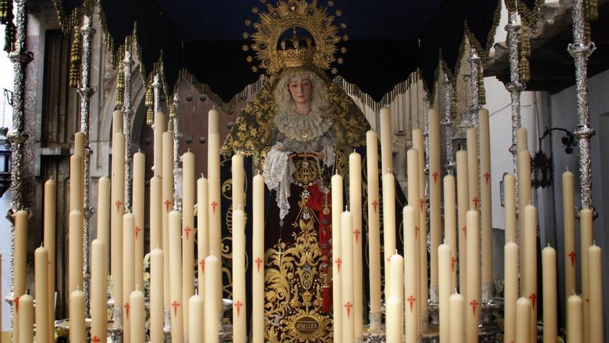 Imagen de la Virgen de la Amargura. Foto cedida por la Hermandad del Huerto de los Olivos