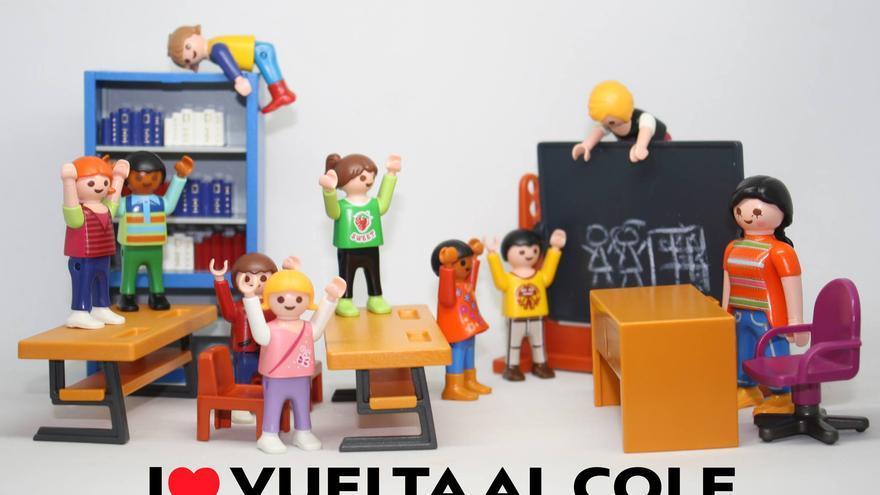 I love Vuelta al Cole