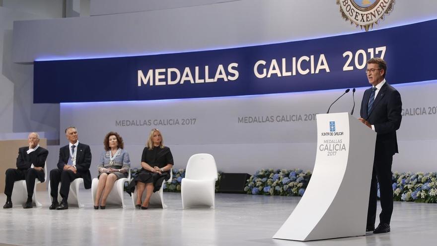 Discurso de Feijóo durante el acto de entrega de las Medallas de Galicia