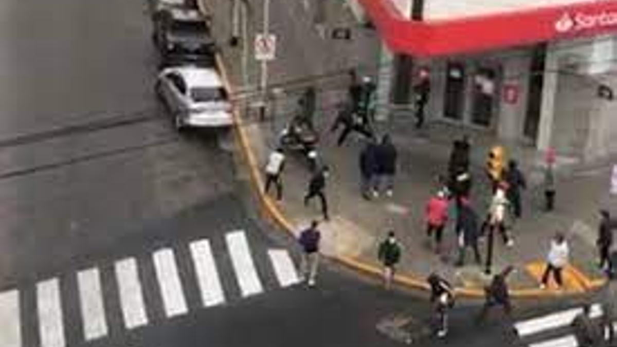 Los enfrentamientos del martes en Avellaneda fueron el emergente de una larga escalada.