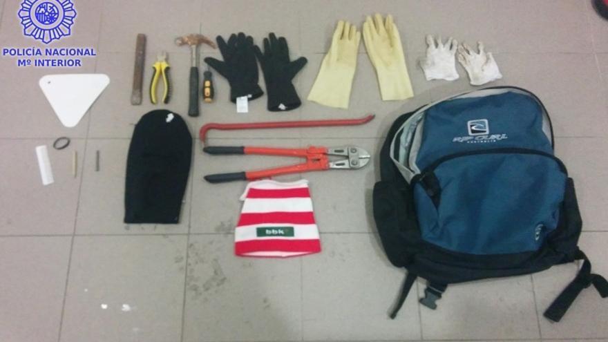 Detenido un hombre que en marzo robó 9.000 euros en material de telefonía móvil en un comercio de Santander