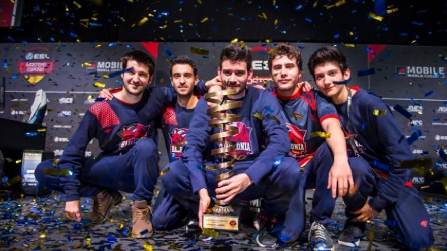 Club Thunder X3 Baskonia en el ESL Masters España