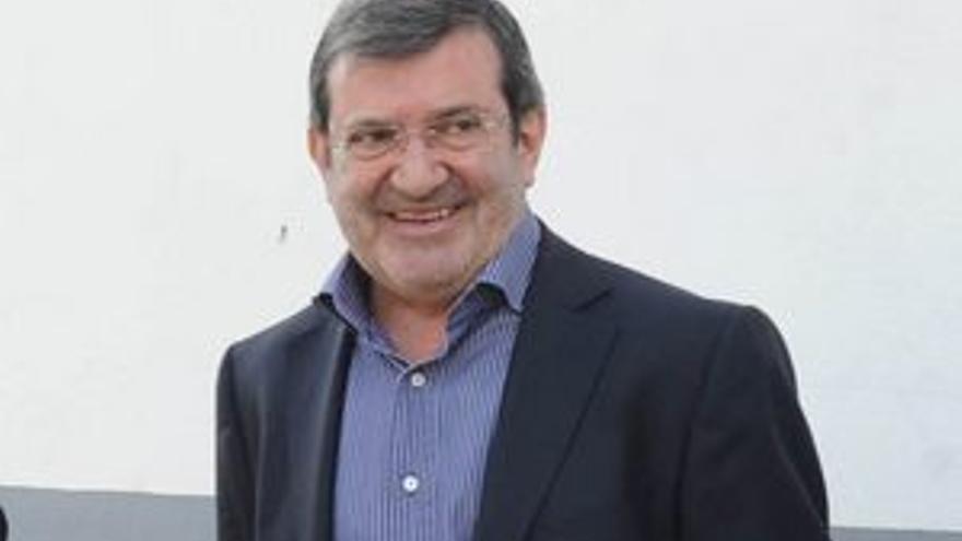 Santiago Llorente, ex director deportivo del CD Tenerife.