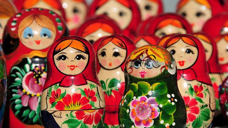 Matryoshkas rusas / Flickr: Marcos Leal