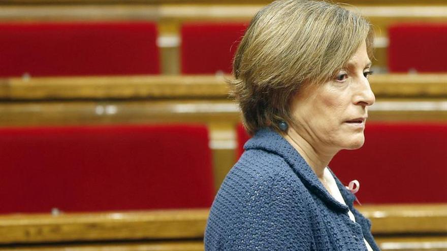 Junts pel Sí y la CUP presentan una resolución para que el Parlament apoye a Carme Forcadell
