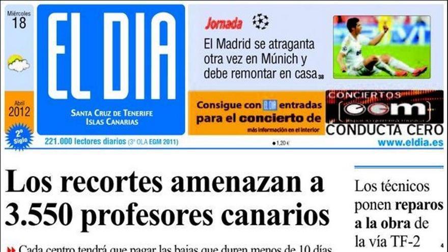 De las portadas del día (18/04/2012) #4