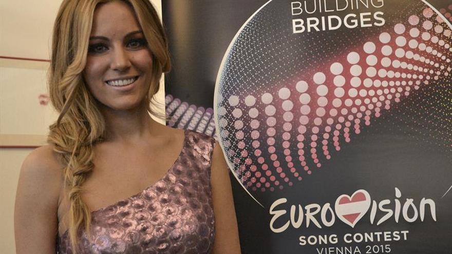"""Edurne: """"Eurovisión es de las cosas que más confianza me han dado en mi vida"""""""