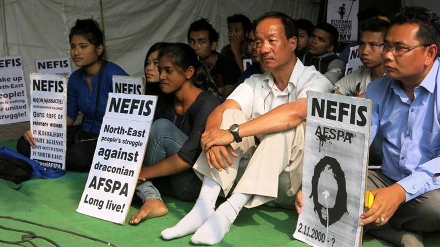 La activista india Irom Sharmila pondrá fin a 16 años de huelga de hambre