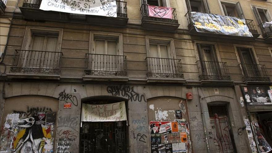 El colectivo Patio Maravillas es desalojado de nueva sede en Madrid