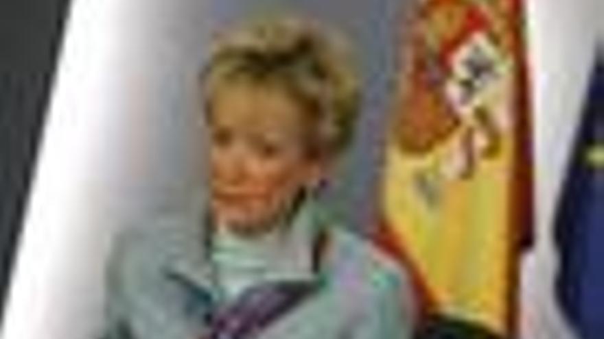 María Teresa Fernández de la Vega en el Consejo
