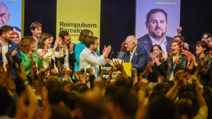 "El candidato de ERC, Ernest Maragall, será el nuevo alcalde de Barcelona: ""Ya estamos aquí. Barcelona tendrá un alcalde republicano. Barcelona tendrá un alcalde progresista, tendrá un alcalde de Esquerra Republicana de Catalunya""."