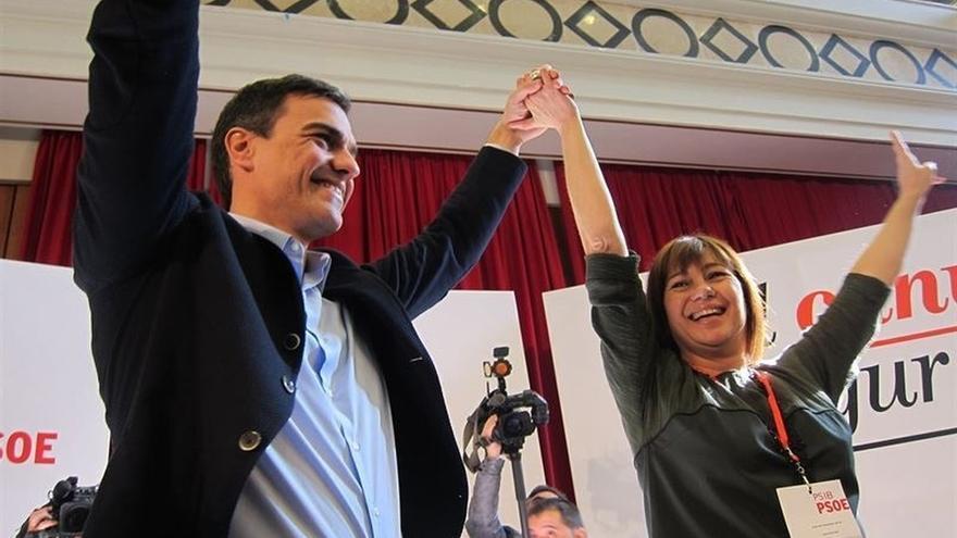 Pedro Sánchez participa este lunes en varios actos de campaña en Menorca y Mallorca