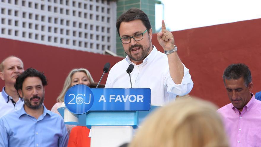 El presidente de los Populares de Canarias, Asier Antona (Alejandro Ramos)