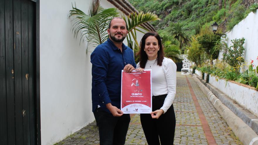 Pablo Díaz Cobiella y Melissa Hernández.