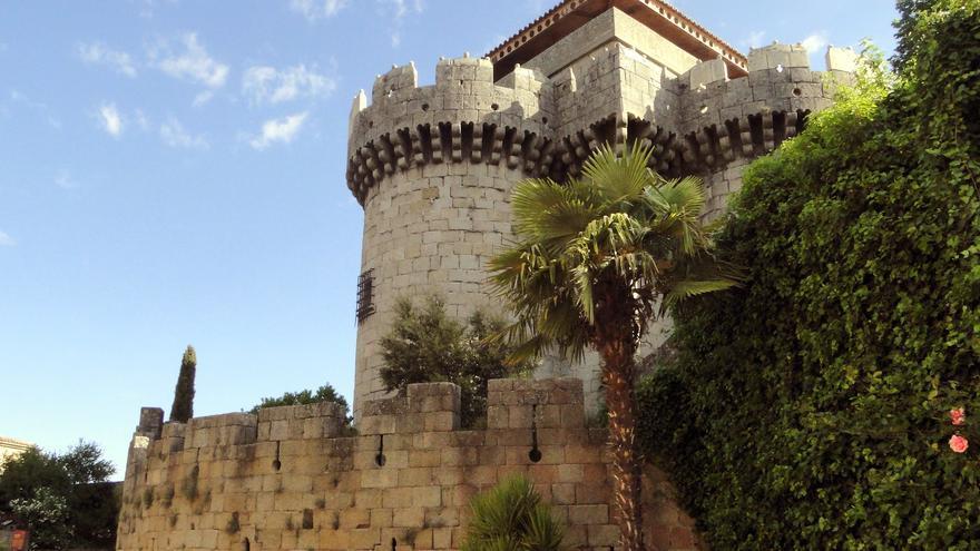 Castillo de Alba en el pequeño pueblo de Granadilla. Santiago López-Pastor