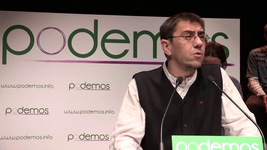 """Podemos dice que Monedero ha elegido """"la opción más favorable para la Hacienda Pública"""" para disipar dudas"""