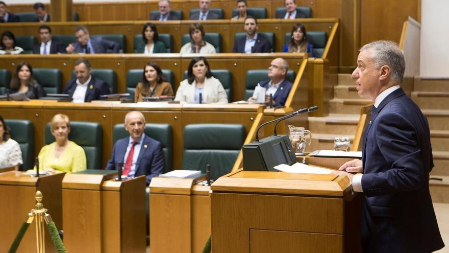 """Urkullu destaca el """"reproche radical"""" de la mayoría de los vascos a los recibimientos a expresos de ETA"""