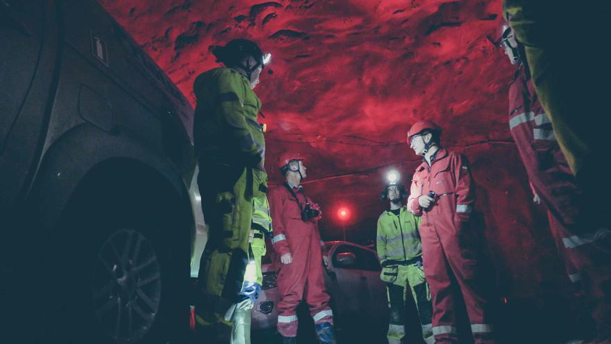 Disponer de internet en la mina permite aumentar la seguridad y automatizar procesos en las galerías
