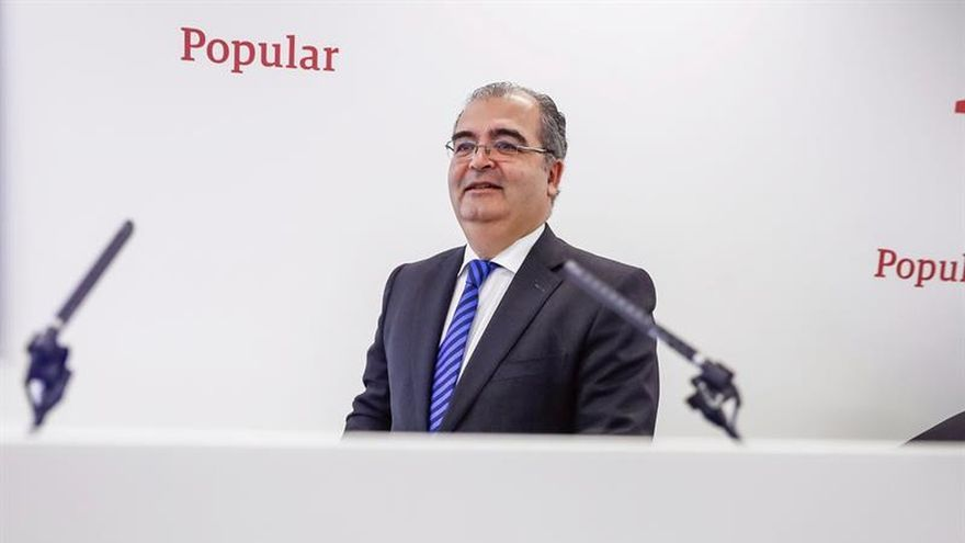 Ángel Ron cesa como presidente del Banco Popular