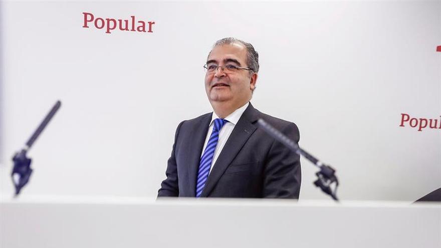 Ángel Ron cesa como presidente del Banco Popular