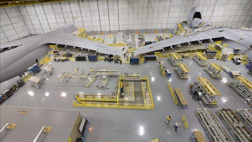 Lockheed Martin logra un aumento de beneficios del 3,4 por ciento en 2012