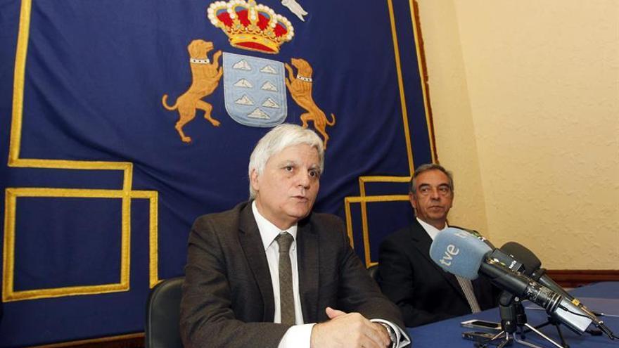 El vicepresidente del Gobierno de Canarias, José Miguel Pérez.
