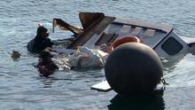 18 personas mueren al naufragar un bote con refugiados en aguas turcas