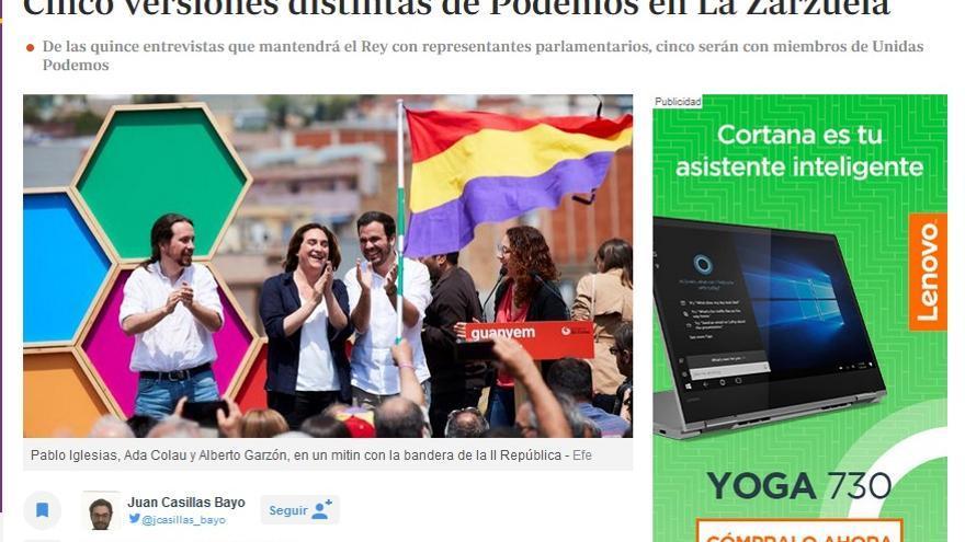 Cinco versiones distintas de Podemos