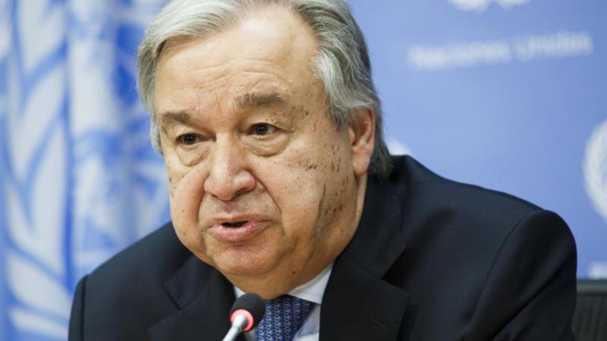 """Guterres: es """"absolutamente necesaria"""" una solución política en Venezuela"""
