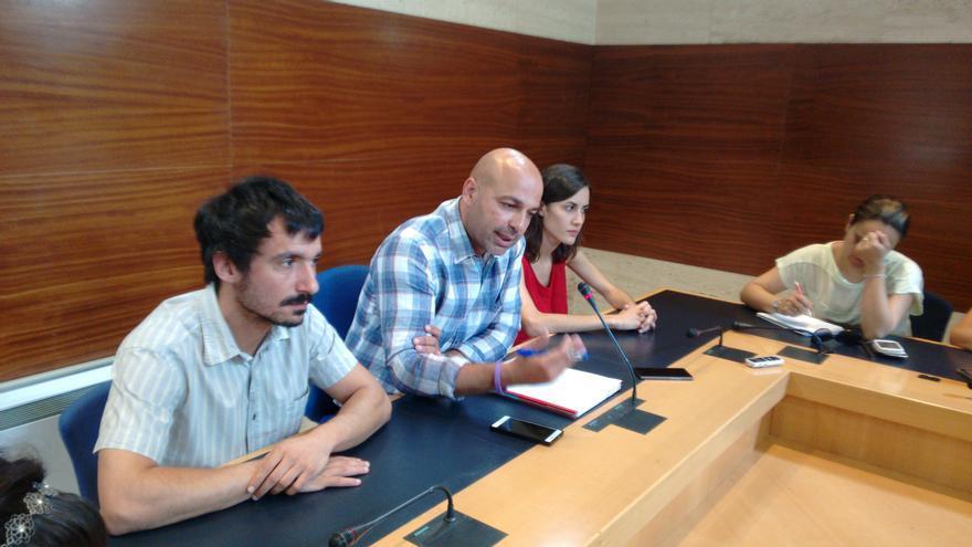 Rueda de prensa de Podemos Castilla-La Mancha