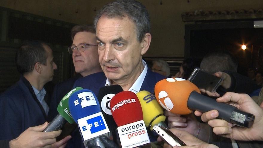 """Zapatero, """"estupefacto"""" con el espionaje de Villarejo y BBVA, pide una """"reflexión pública muy seria"""""""
