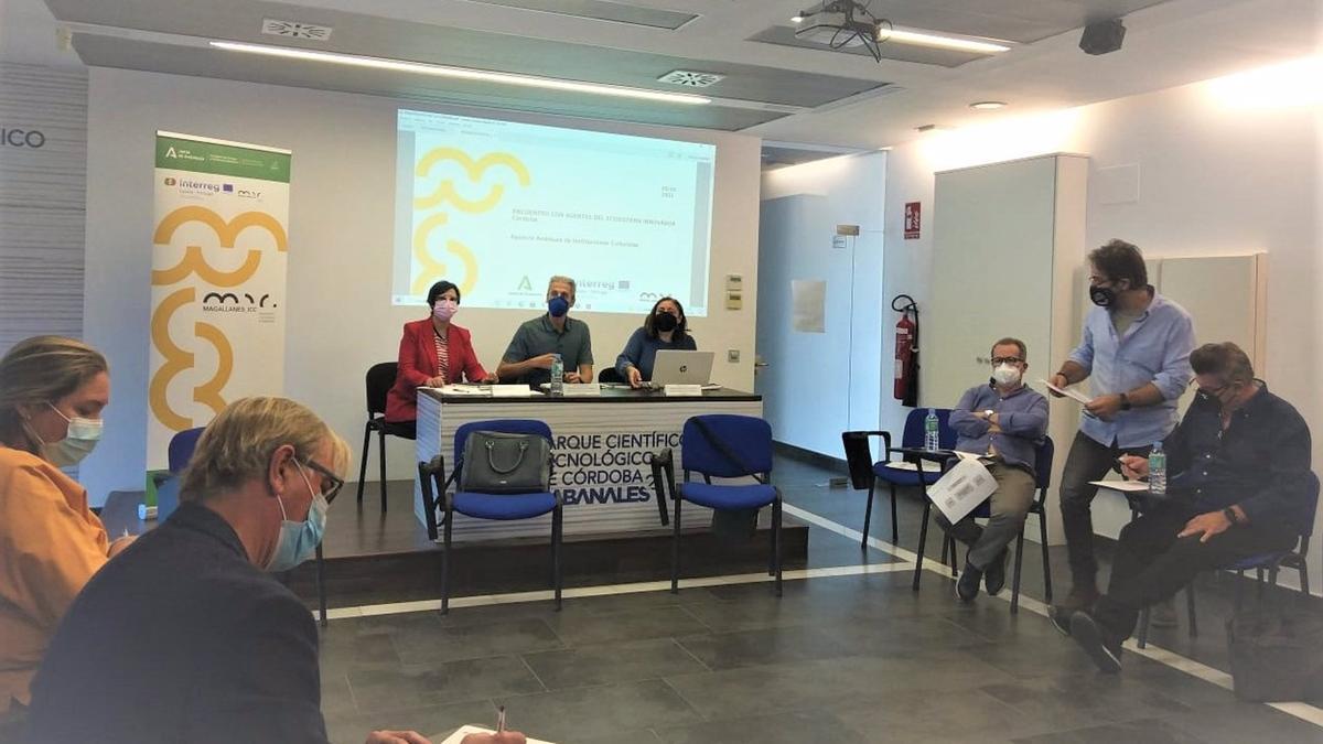 Encuentro del proyecto europeo 'Magallanes_ICC' en Rabanales 21