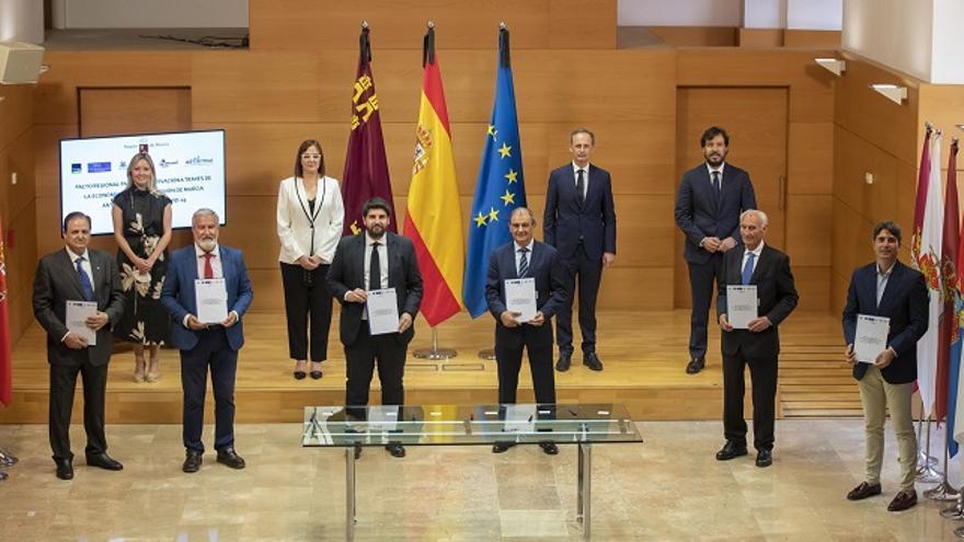 Pacto regional para la reactivación a través de la economía social de la Región de Murcia ante la pandemia de COVID-19