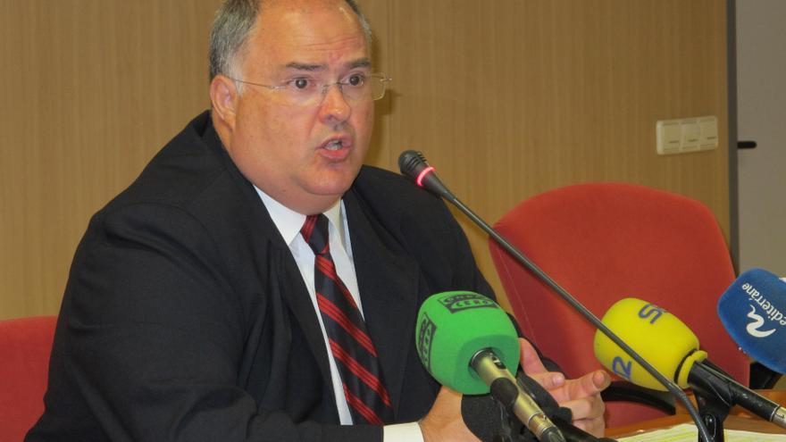 El presidente de la Audiencia de Valencia, Fernando de Rosa