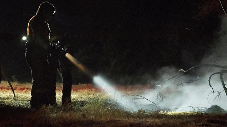 Controlado el incendio de Chantada (Lugo), que arrasó cien hectáreas