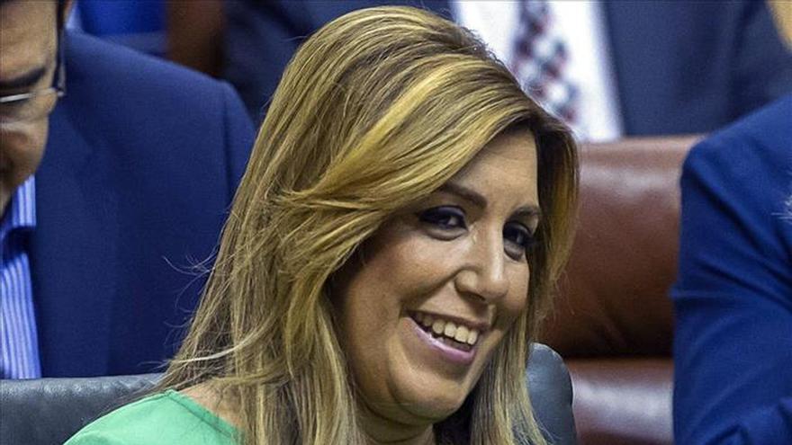 Susana Díaz hará campaña en Cataluña tras su baja de maternidad