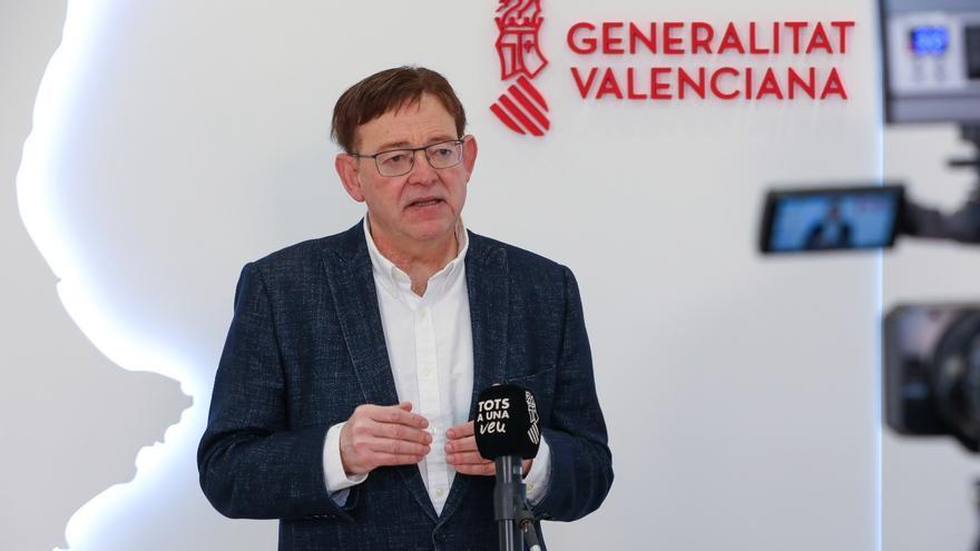 El 'president' de la Generalitat Valenciana, Ximo Puig,
