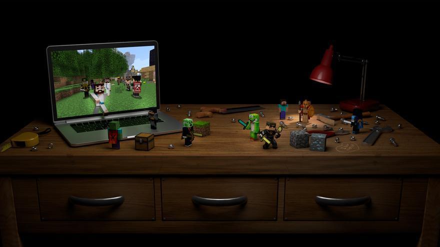 Minecraft en 3D