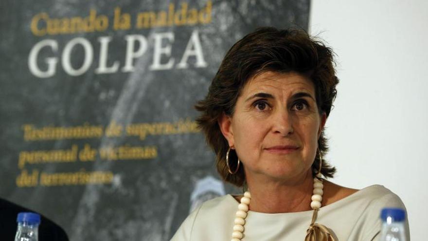 """San Gil acusa al PP de """"consentir"""" la """"pesadilla"""" que vive el País Vasco"""