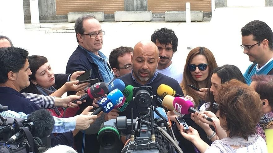 El secretario general de Podemos Castilla-La Mancha, José García Molina / Europa Press