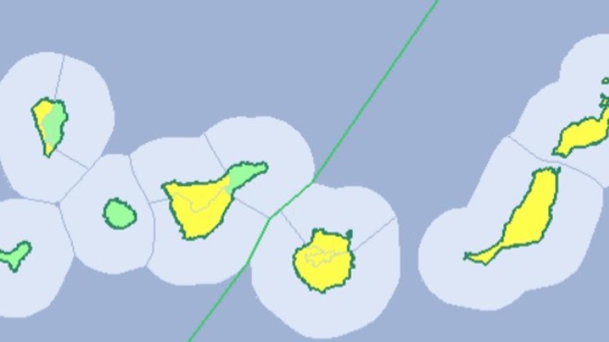 Previsión de altas temperaturas en Canarias