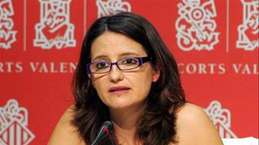 Portavoz de Compromís, Mónica Oltra