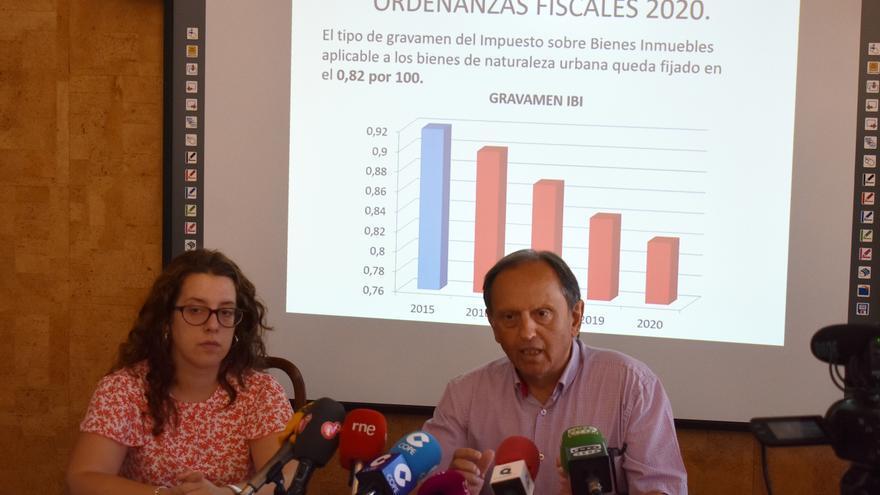 Nicolás Clavero en rueda de prensa