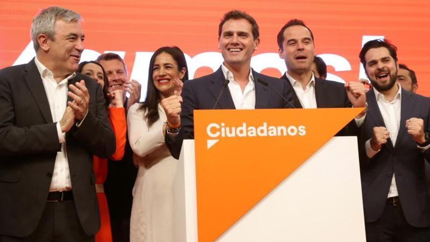 "Rivera: ""Sra. Carmena, Sr. Sánchez, la bandera de Madrid no es el populismo"""