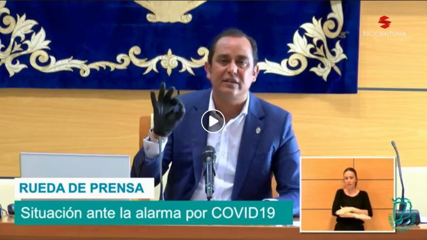 Blas Acosta, presidente del Cabildo de Fuerteventura