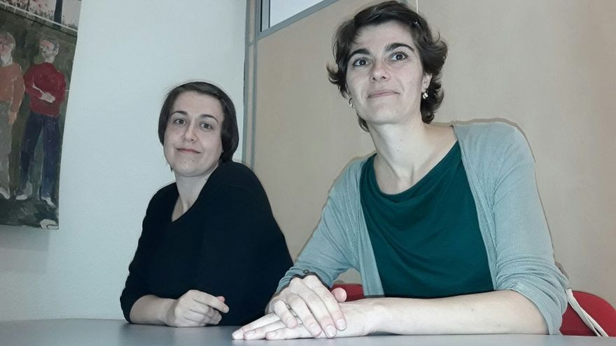 Las diputadas Rosa Martínez y Teresa Arévalo / Albacete Capital