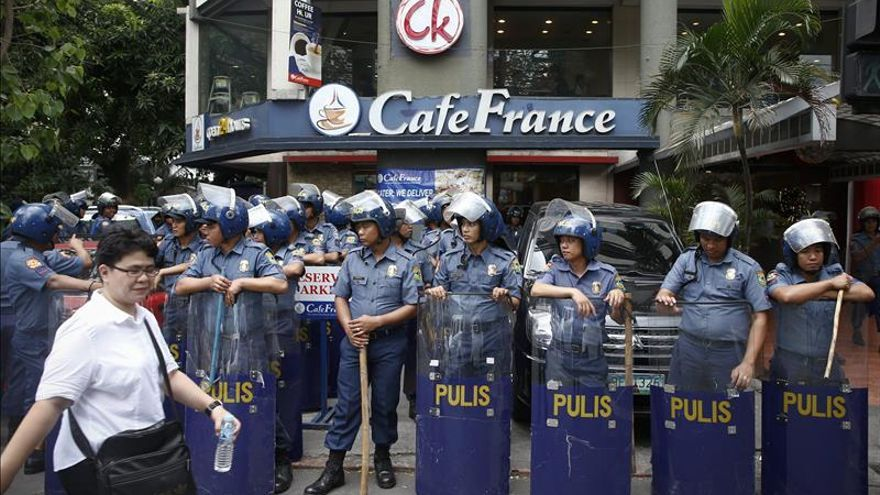 Filipinas recluye a cientos de indigentes por la cumbre de APEC, según varias ONGs
