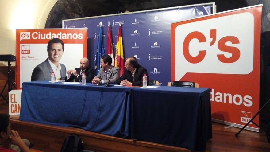 Ciudadanos Castilla-La Mancha. Foto: David Muñoz   Facebook